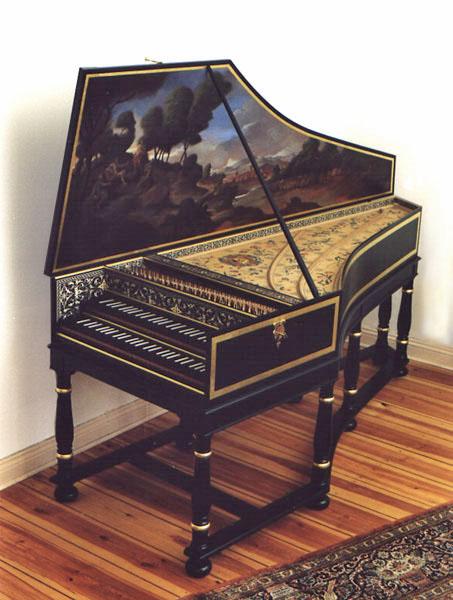 lap harpsichord - photo #32